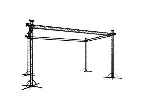 Ground support 12x8 m