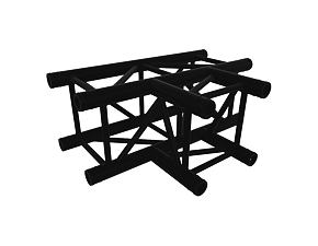 Black truss A290 No. 8288 - 710x500 mm - T-roh