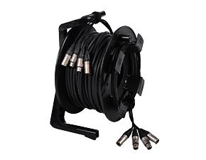 Multicore kabel 4in/4out 35 m