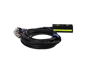 Multicore kabel 12in/4out 16 m