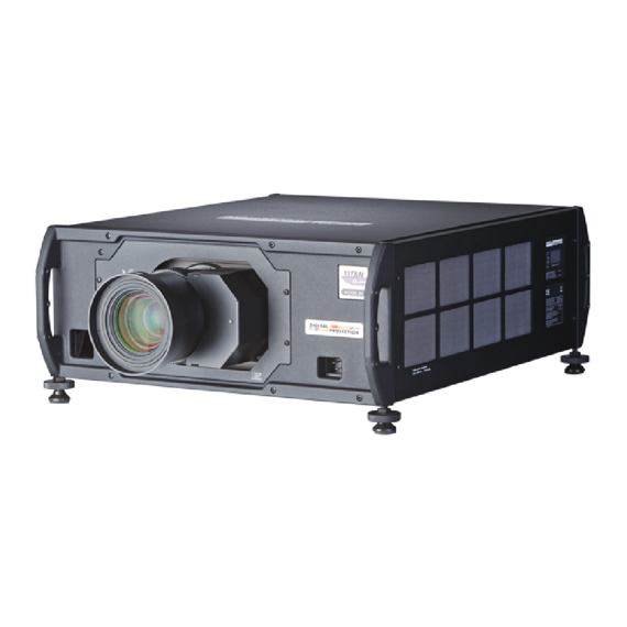 Projektor 20.000 Ansi Digital Projection Titan Super Quad 1080p 3D